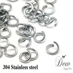 100 x 8mm stainless steel...